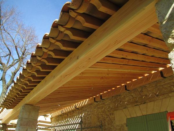 au c ur du bois construction terrasse escalier charpentier restauration charpente. Black Bedroom Furniture Sets. Home Design Ideas